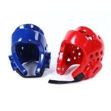 Для детей и взрослых Санда Каратэ Муай Тай боксео Бокс тхэквондо шлем для защиты головы для мужчин и женщин тренировочный шлем