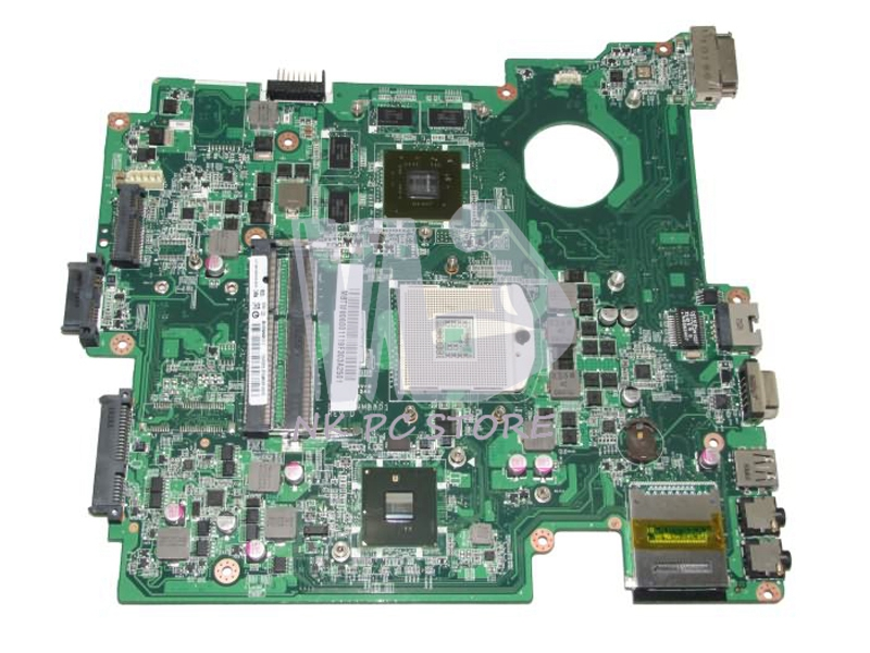 MBTW806001 MB.TW806.001 For Acer Travelmate 8572 8572G Laptop Motherboard DA0ZR9MB8D1 HM55 DDR3 GeForce GT310M GPU