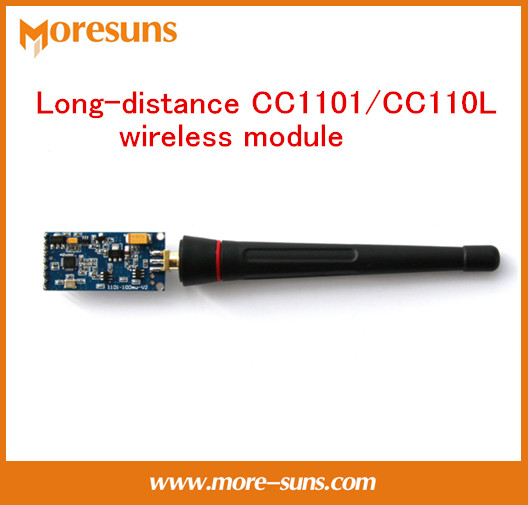 Fast Free Ship 2PCS Long-distance CC1101/CC110L wireless module,medium power distance 600-800 meter RFC-1100C wireless module
