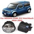 Para NISSAN CUBE Z12 Hatchback 2010-2014 Faros Antiniebla luz Blanca 6000 K 2 UNIDS