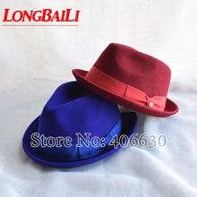 new winter women high quality woolen felt beret hat cap, fedora hat, claret color, free shipping