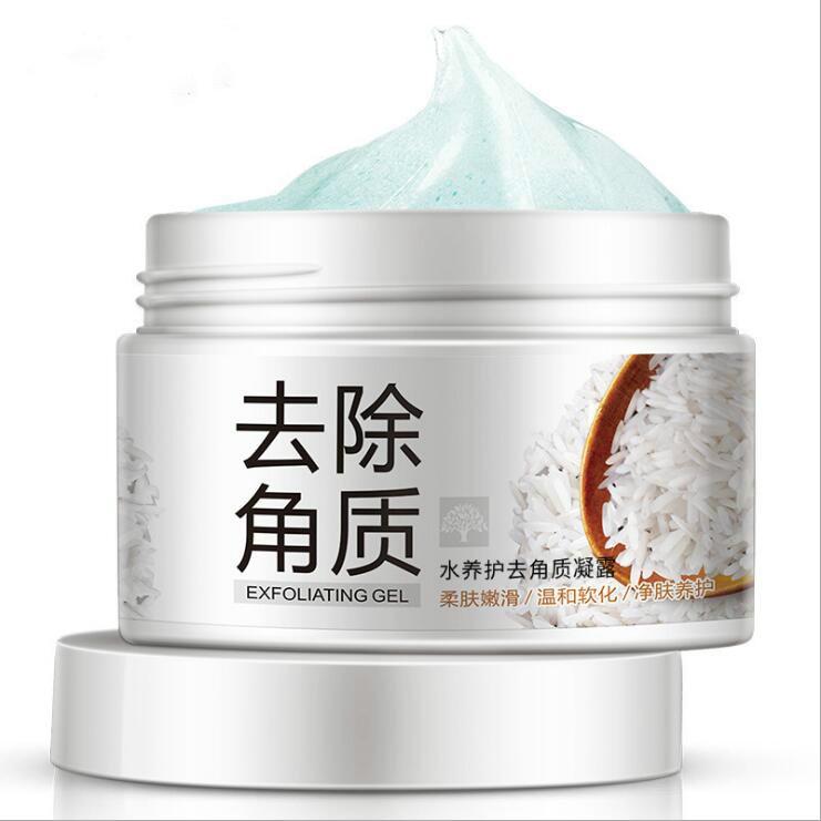 Hot Sale Deep Exfoliator Gel Scrub Smooth Moisturizing Skin Care Whitening Face Cream Anti Aging Repair Exfoliator Scrub