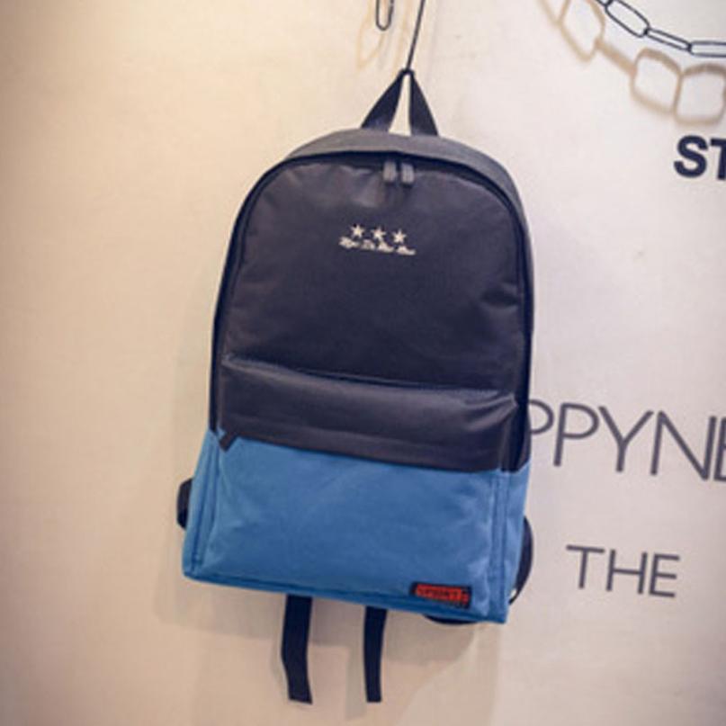Amazing Hot Girls Boys Canvas School Bag Travel Backpack Satchel Women Shoulder Rucksack mochila feminina bagpack 2016 casual canvas satchel men sling bag