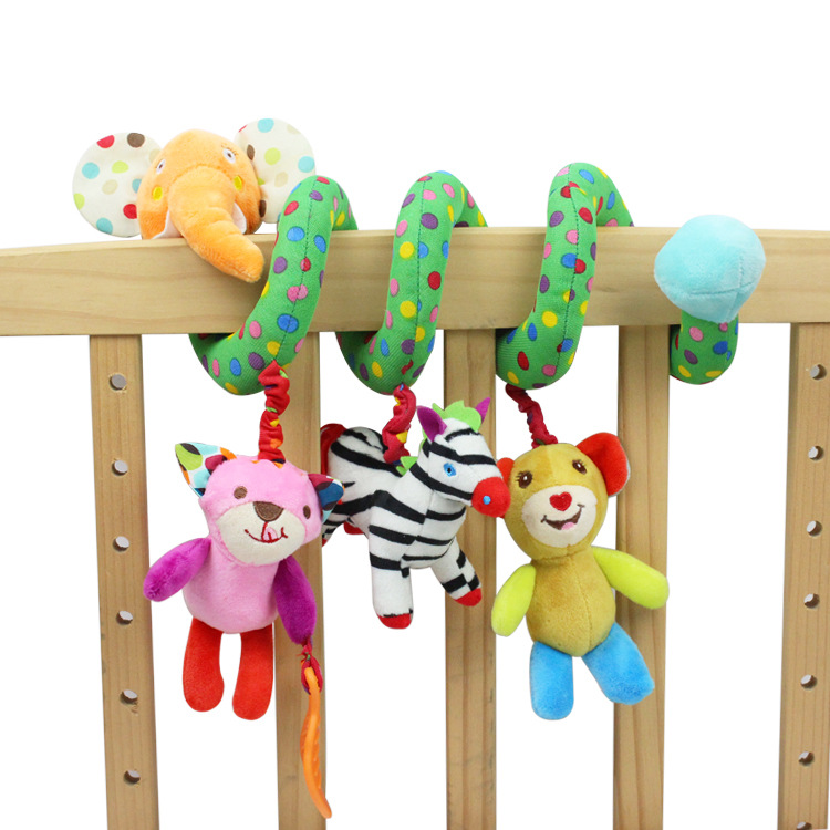 Baby Crib Revolves Around the Bed Stroller Toy Car Lathe Hanging Baby Rattles Y