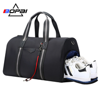 2018 New Designed Duffle Travel Bags with Shoes Compartment Holiday Weekend Travel Bags Waterproof Shoulder Bag bolsa de viagem