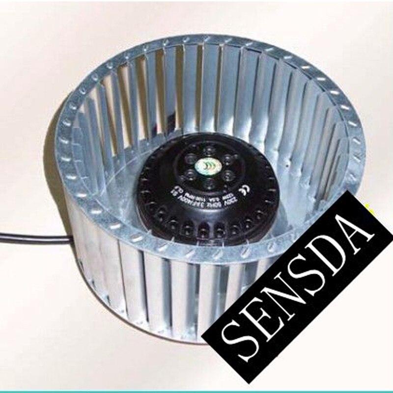 Centrifuge incurvée avant turbine 180mm AC 180*92mm 220 V 0.35A 80 W 1200 tr/min
