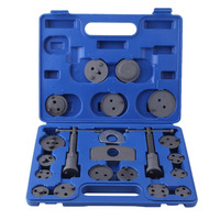 22pcs Heavy Duty Disc Brake Caliper Tool Set Wind Back Kit For Brake Pad Replacement For Most Automobiles Garage Repair Tools