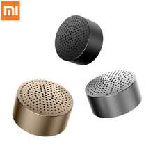 Original Xiao Mi Mi ลำโพงบลูทูธสเตอริโอแบบพกพาลำโพงไร้สาย Mi Ni Mp3 เครื่องเล่นเพลงลำโพงแฮนด์ฟรีโทรฟรี