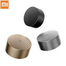 Oryginalny głośnik Xiao mi mi Bluetooth Stereo przenośne głośniki bezprzewodowe mi ni odtwarzacz Mp3 głośnik do muzyki połączenia głośnomówiące