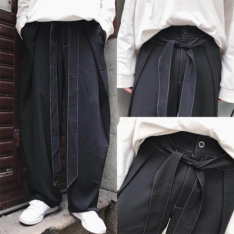 Lâche Japonais Hommes Droite Neuf Style Pantalon Large 6xlNoir De Jambe Coréenne Casual point Version HommesS BxrCoed