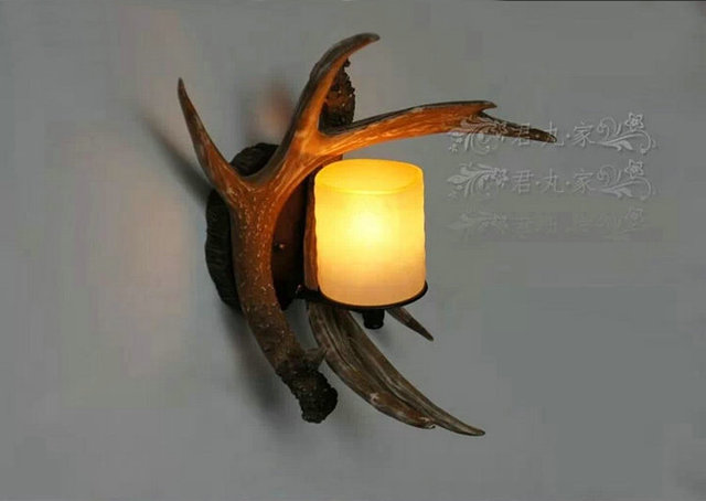 Antler creativo lampade da parete retro applique da parete scala