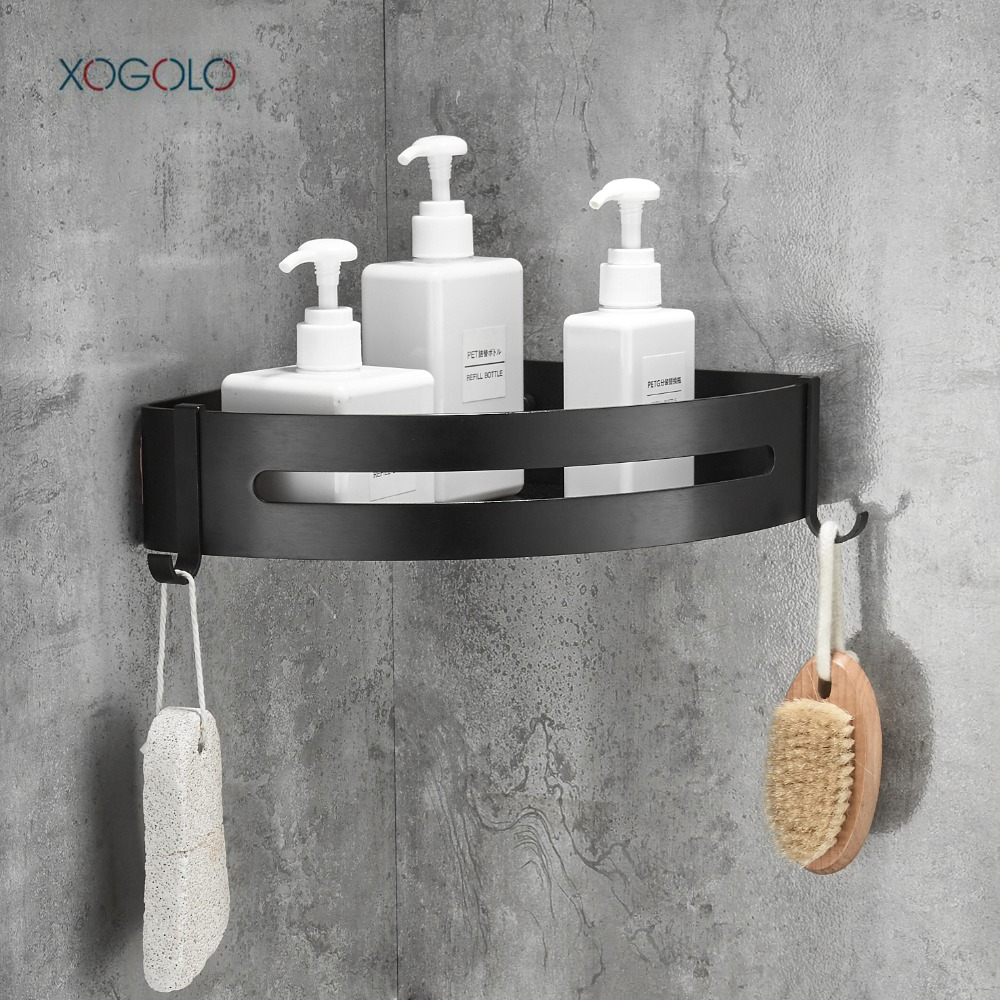 XOGOLO Bathroom Shower Shelf Triangle Wall Shower Caddy Space ...