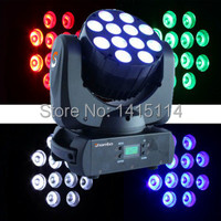 High power 12pcs*10W RGBW cree LED beam moving head light led mini wash dmx stage lighting for party show