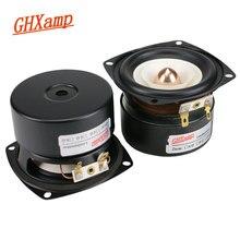 GHXAMP 3 インチフルレンジスピーカー 4ohm 15 ワットハイファイ重低音ツイーター MID 低音スピーカー Bluetooth スピーカー DIY 2 個
