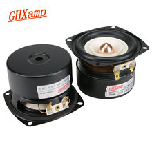 GHXAMP 3 Inch Full Range Speaker 4ohm 15W Hifi  Deep Bass Tweeter MID Bass Loudspeaker Bluetooth Speaker DIY  2pcs