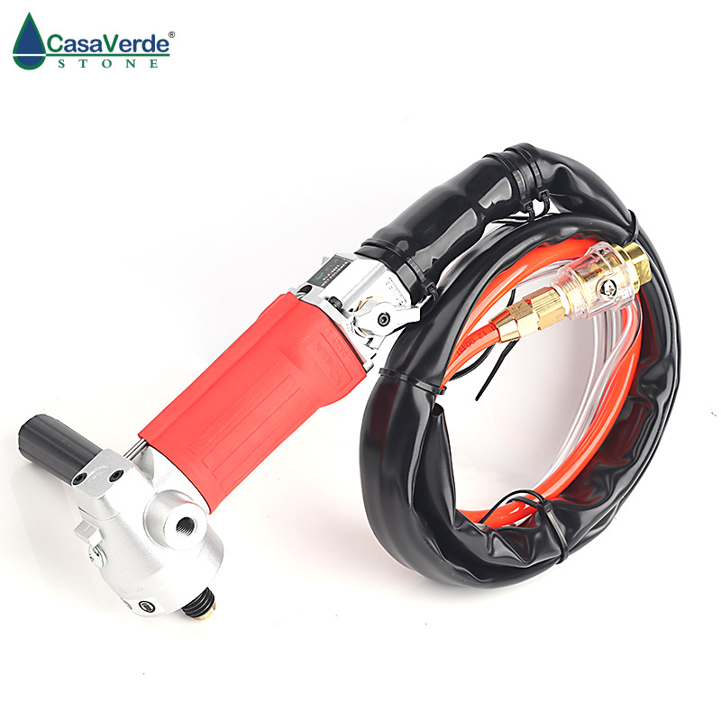 Free shipping rear exhaust polisher and grinder machine M16/M14 or 5/8-11 arbor for polished stone