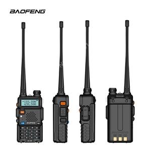 Image 3 - BaoFeng اسلكية تخاطب UV 5R اتجاهين راديو ترقية النسخة uv5r 128CH 5 W VHF UHF 136 174 Mhz و 400 520 Mhz متعددة تركيبات