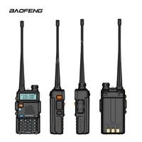 128ch 5w vhf uhf טוקי Baofeng UV-5R שתי דרך רדיו גרסת שדרוג uv5r 128CH 5W VHF UHF 136-174Mhz & 400-520Mhz שילובים מרובים (3)