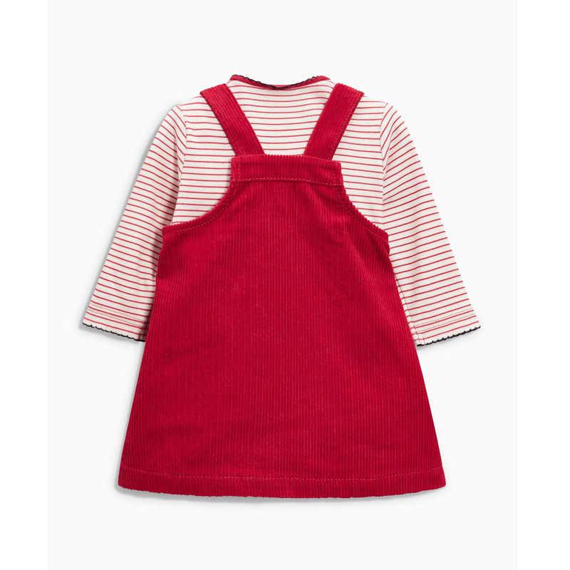 봄 가을 유아 소녀 드레스 패턴 코듀로이 유치원에서 소녀를위한 우아한 와이드 드레스 귀여운 유아 드레스 조끼 6-36 m