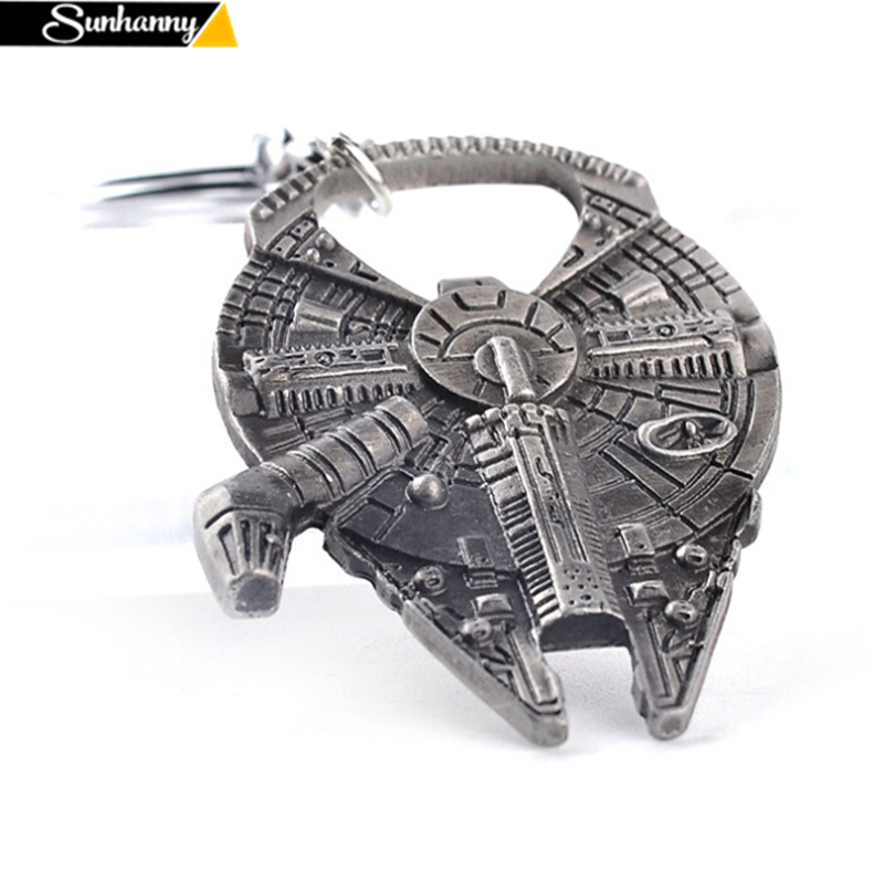 Sunhanny Kitchen Gadgets Dining and Bar Cooking Tools Star Wars Star Wars Spacecraft Car Keychain Bottle Opener Dual Purpose