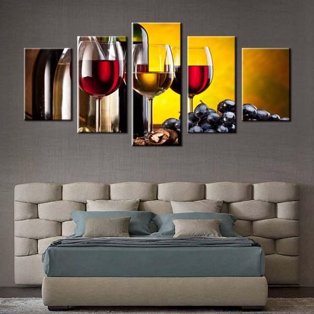 Tienda Online Varios vino con uva arte de la pared para la cocina ...