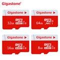 Gigastone MicroSDHC Карты 64 ГБ 32 ГБ 16 ГБ 8 ГБ Micro SD Class 10 Картао де Memoria Карт SD Карты TF Карты Памяти