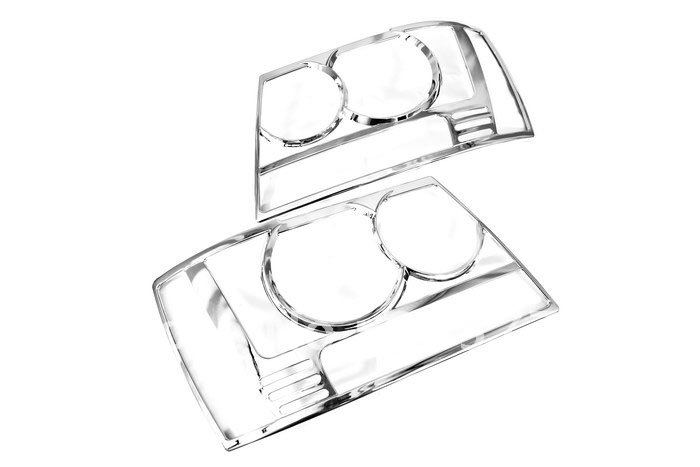 High Quality Chrome Head Light Cover for Chevrolet Tahoe