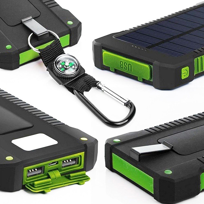 Cellphones & Telecommunications 1pcs Diy Waterproof Dual Usb No Battery Solar Led 50000mah Power Bank Charger Case Kit 14.9cm X 7.4cm X 1.8cm Non-Ironing