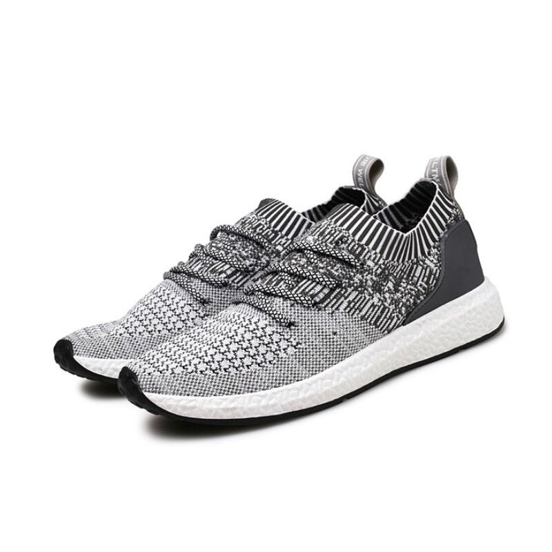 LISM 2018 Summer New Flying Sail Mens sneakers  Fashion Casual Light Breathable Student Shoes