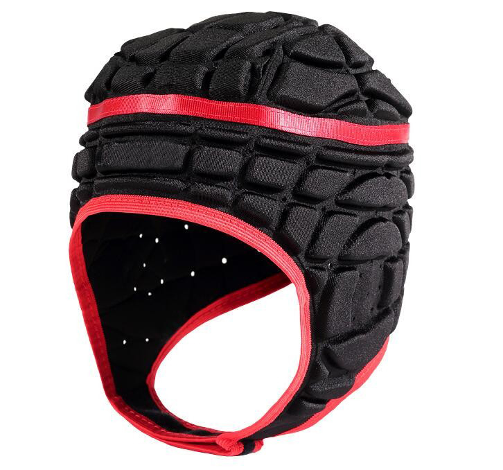 Baseball Helmets High density anti collision sponge football goalkeeper helmet rugby font b roller b font
