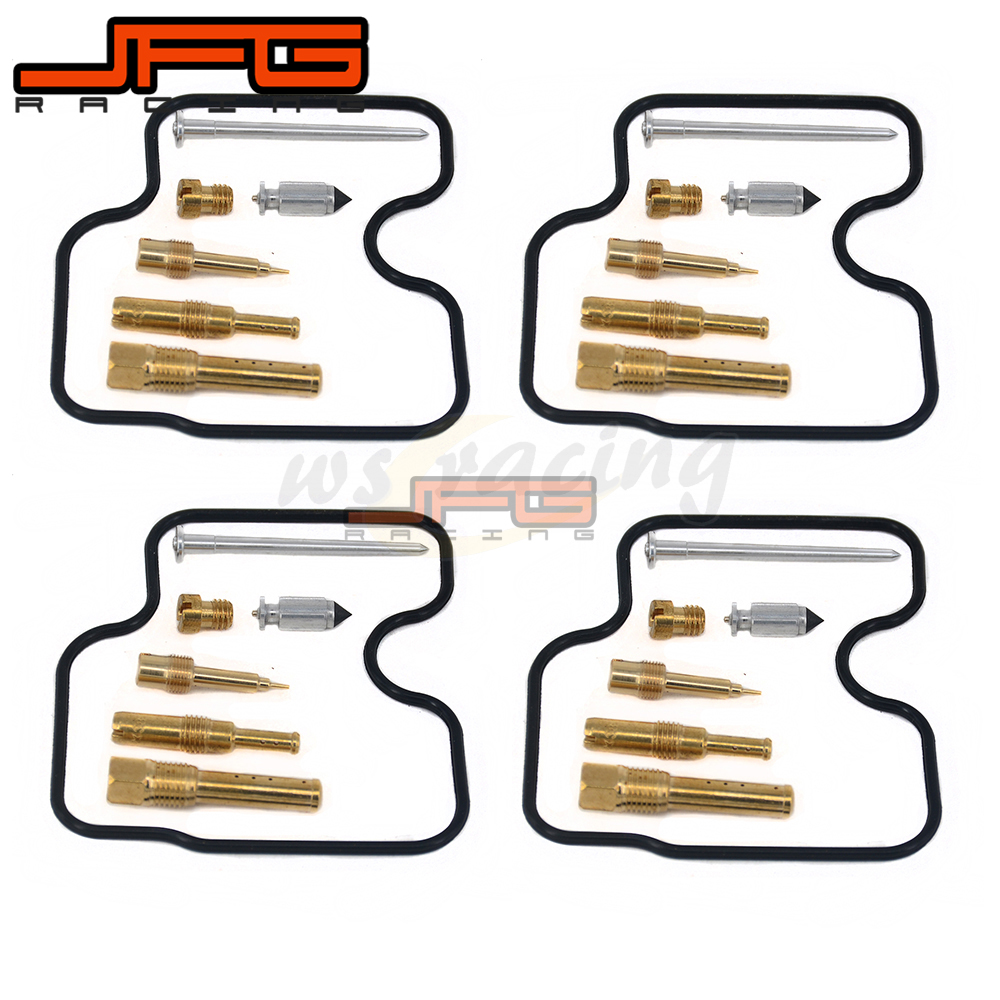 цена 4 Sets Motorcycle Carburetor Repair Fix Kit Rebuild Tool For HONDA CB400 CB 400