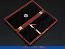 Oboe Reed Case for 20pcs Reeds-Wood Reeds Case AAA+++with Hygrometer