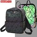 MAGICYZ геометрический ctriangle сумки с голограммой светящийся женский рюкзак и сумка a dos 2019 женский рюкзак Mochilas голографический рюкзак