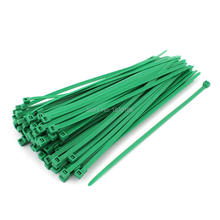 3mm x 200mm Self Locking Nylon Cable Ties Heavy Industrial Wire Zip Ties Green 100pcs 100pcs white self locking cable tie high quality nylon fasten zip wire wrap strap 2 5x100mm 2 5x150mm plastic