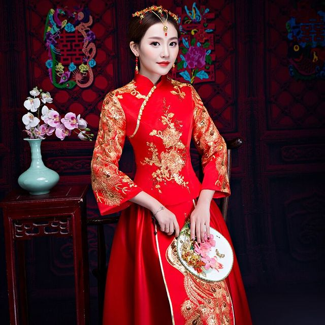 Chinese Marriage Wedding Dress