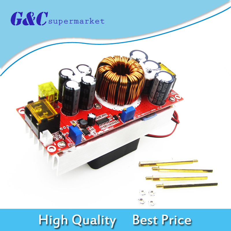 1800W 40A dc dc Boost Converter Step Up Power Supp