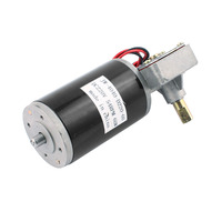 Uxcell Newest DC 220V 54RPM 60W DC Geared Motor for Electronic Game Machine JW 4040 D220 60 with 2 Terminal Connector