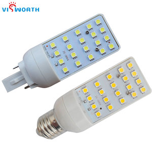 G24 Led Lamp G24 E27 Base Led Bulbs 5W 7W 9W 12W Smd505 20Pcs Leds Spotlight 180 Degree Warm Cold White Corn Light