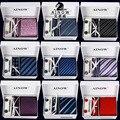 Gravatas de lenço abotoaduras define 2016 100% seda laços para homens gravata para festa de casamento de frete grátis LD8001