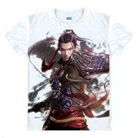 The Legend Qin T-Shirt Shi Lan Áo Sơ Mi Nam của Giải Phóng Mặt Bằng Anime Dễ Thương Womens Ngắn Tay Áo T-Shirt Dành Cho Người Lớn Một