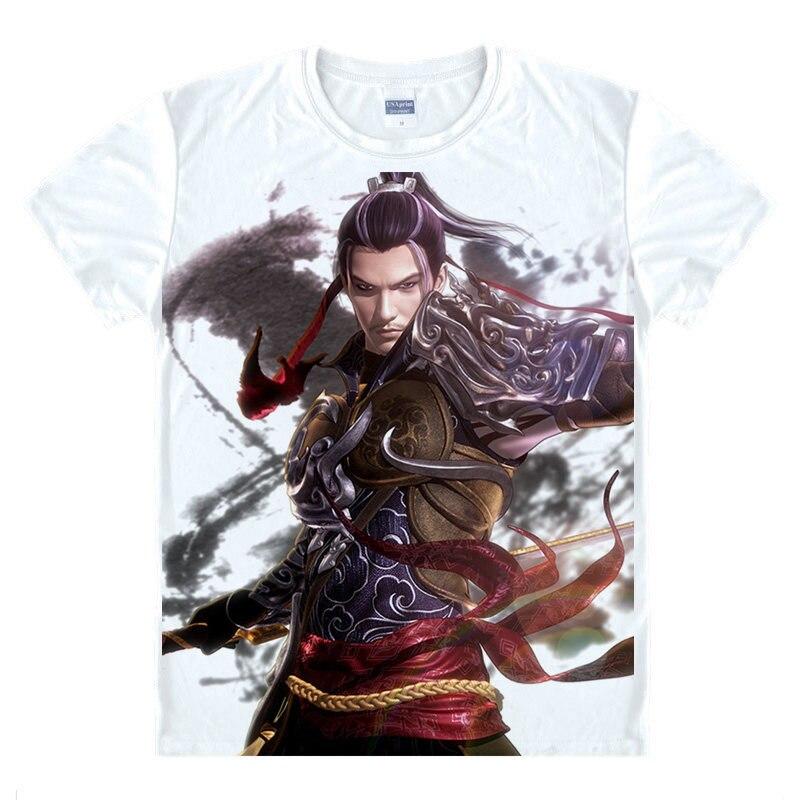 The Legend of Qin T-Shirt Shi Lan Shirt Mens Clearance Anime Cute Womens Short Sleeve T-Shirt Adult A