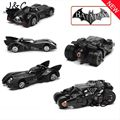 "Batman Metal Batmobile Chariot Collectible Alloy Car Models Toys 7cm/2.8"" For Kids Toys Gifts"