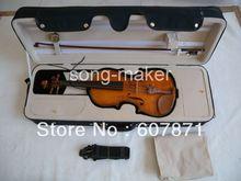 Nice violin. maple back violin+bow +case+rosin #1088