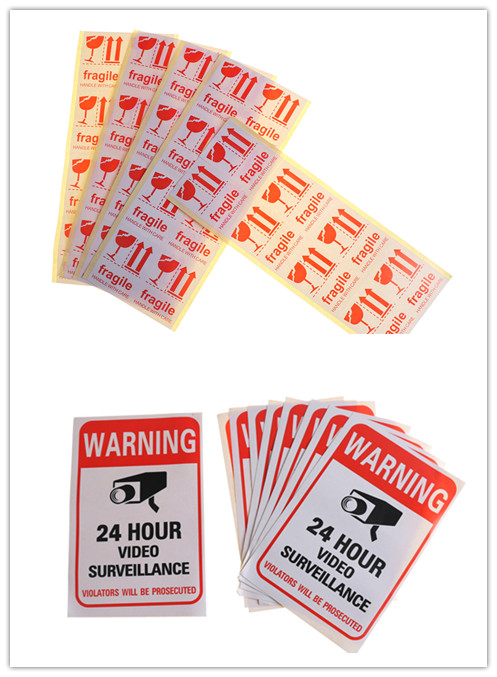 Fragile Shipping Mailing Handle With Care Stickers Warning Sticker  Or Warning Label Sticker