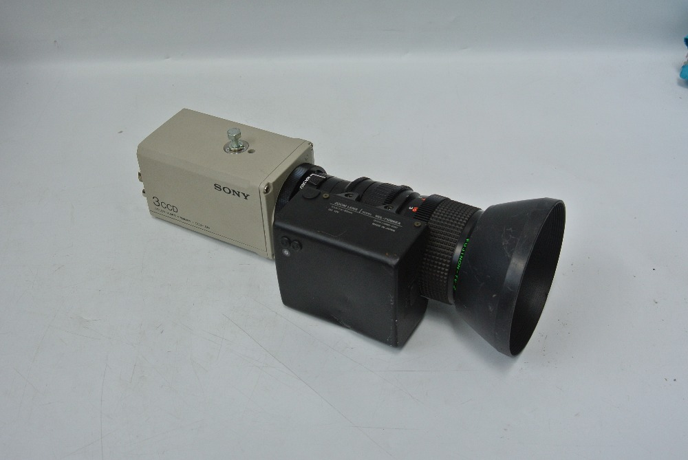 SONY DXC-930 3CCD VCL-712BXEA Used Good In Condition  With Free Shipping