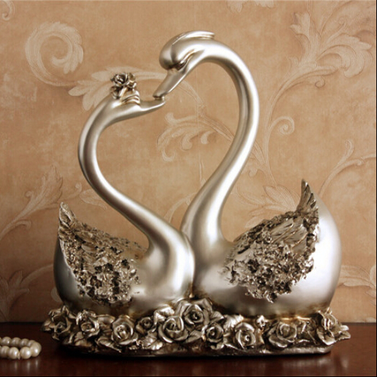The Lover Swan Furnishing Articles Creative Gift Wedding Gifts