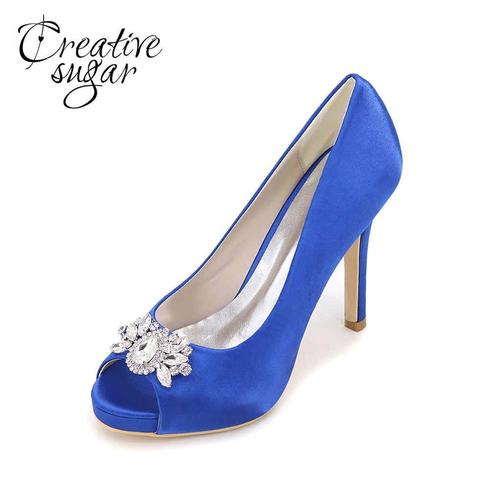 b9e8332b9dd0f VIVIOO Escarpins Femme Chaussures De Mariage En Cristal Pompes Femmes  Chaussures Rouge Chaussures De Luxe Femmes