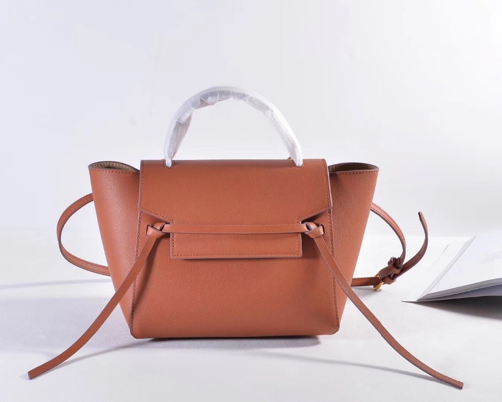 2017 Genuine Leather Purse Crossbody Women Shoulderbag Clutch Female Handbag Designer Famous Brand Trapeze Bag Large Tote Bolsa