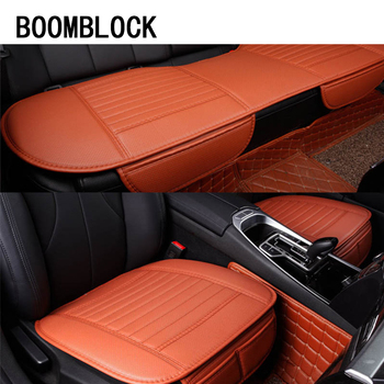 Car-Styling For BMW E36 F30 F10 X5 E53 E34 E30 F20 E70 Mini Cooper Lada Saab Audi Leather Seat Cover Cushion Support Accessories image