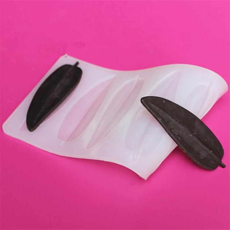 DIY 3D yarpaqları forma silikon şokolad qəlibindən hazırlanmış - Mətbəx, yemək otağı və barı - Fotoqrafiya 4